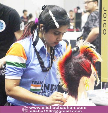 4Bronze Medalist Elisha Chauhan performing at Asia cup 2015