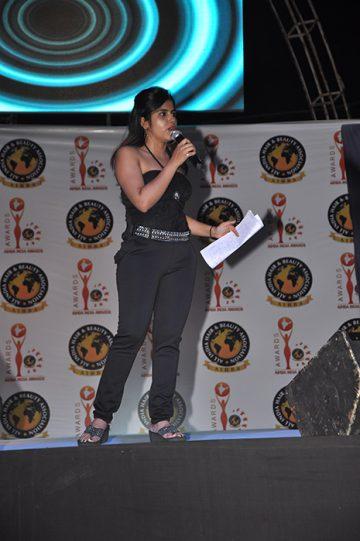Anchoring at AIHBA India Awards 2014
