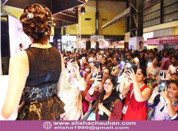 Bridal Hairstyle by Elisha Chauhan at Fashion SHow in Mumbai_India (10)