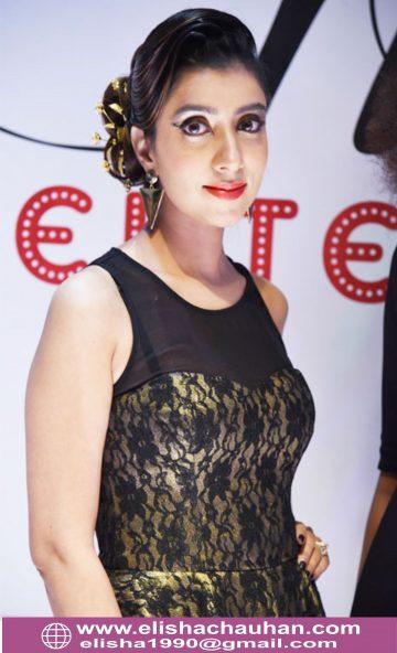 Bridal Hairstyle by Elisha Chauhan at Fashion SHow in Mumbai_India (11)