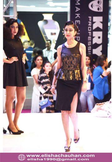 Bridal Hairstyle by Elisha Chauhan at Fashion SHow in Mumbai_India (2)