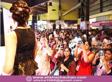 Bridal Hairstyle by Elisha Chauhan at Fashion SHow in Mumbai_India (9)