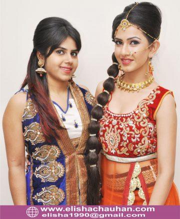 Bridal Makeup and Hairstyle by Elisha