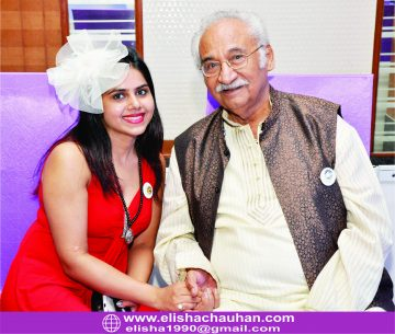 Candid moment with Icon Pandhari Juker(Makeup Artist of Indian Cinema)