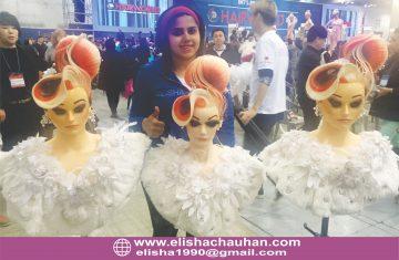 ELisha Chauhan at World Cup 2016 at Korea