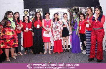 ELisha Chauhan hosting National Carnival of India in New Delhi (1)