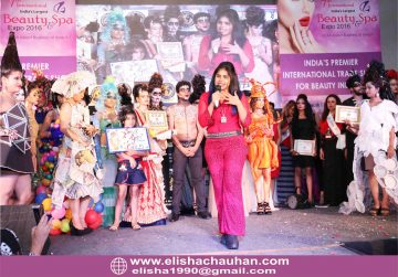 ELisha Chauhan hosting National Carnival of India in New Delhi (5)