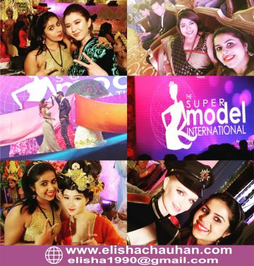 ELisha Chauhan working with Supermodels of different countries at Supermodel International (2)