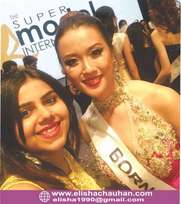 ELisha Chauhan working with Supermodels of different countries at Supermodel International (3)