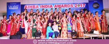 ELisha with team mates at AIA 2017- Traditional Bridal Makeup Models