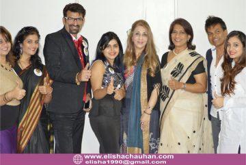 Elisha Chauhan Judging with other Judges from India _ Sri Lanka