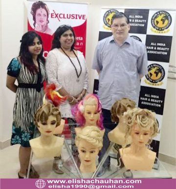 Elisha Chauhan with Ex-CEO of National Skill development Corporation