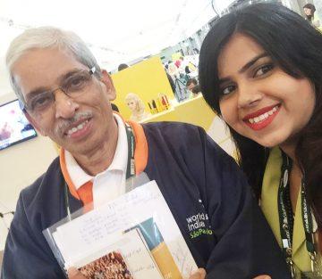 Elisha Chauhan with Indian delegates at Sao Paulo (1)