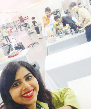 Elisha Chauhan with Indian delegates at Sao Paulo (3)