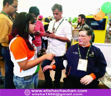 Elisha Chauhan with Indian delegates at Sao Paulo (5)