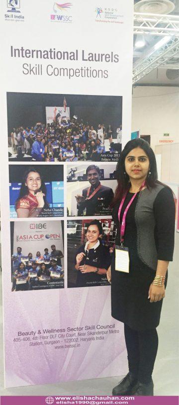 Elisha Chauhan_s students competing at IndiaSkills (14)
