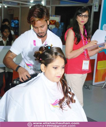 Elisha Chauhan_s students competing at IndiaSkills (18)