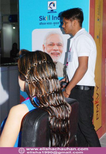 Elisha Chauhan_s students competing at IndiaSkills (2)