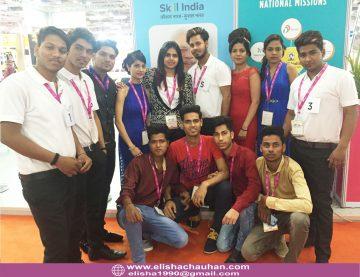 Elisha Chauhan_s students competing at IndiaSkills (8)
