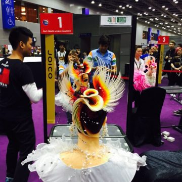 Elisha Chauhan's Work at Asia Cup in Hair by Night category