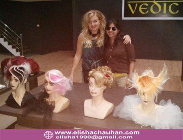 Elisha with International Trainer and friend Emma Ekman (1)