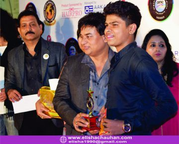Elisha_s Student receiving Award (2)