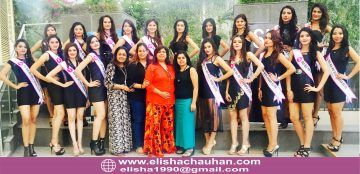 India with best models of India fighting for Supermodel International