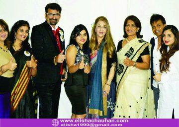 Judging at AIHBA India Awards 2016