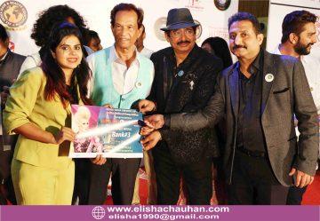 Receiving International Acheivement Certificate from Legendary Ahmed Habib _ Harish Bhatia