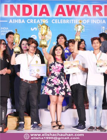 Winning Golden Cup for Bridal Hairstyling AIA 2017