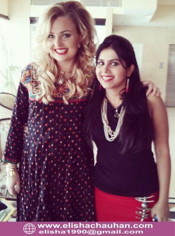 With International Celebrity Emma Ekman (1)