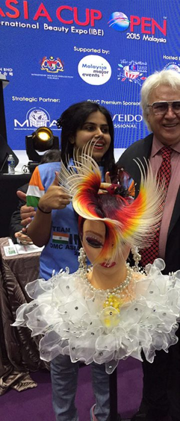 With International celebrity Mr.Fedora,OMC World