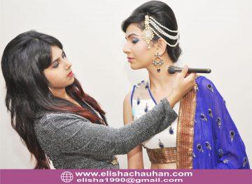 Working with Supermodel Bhavyata at shoot